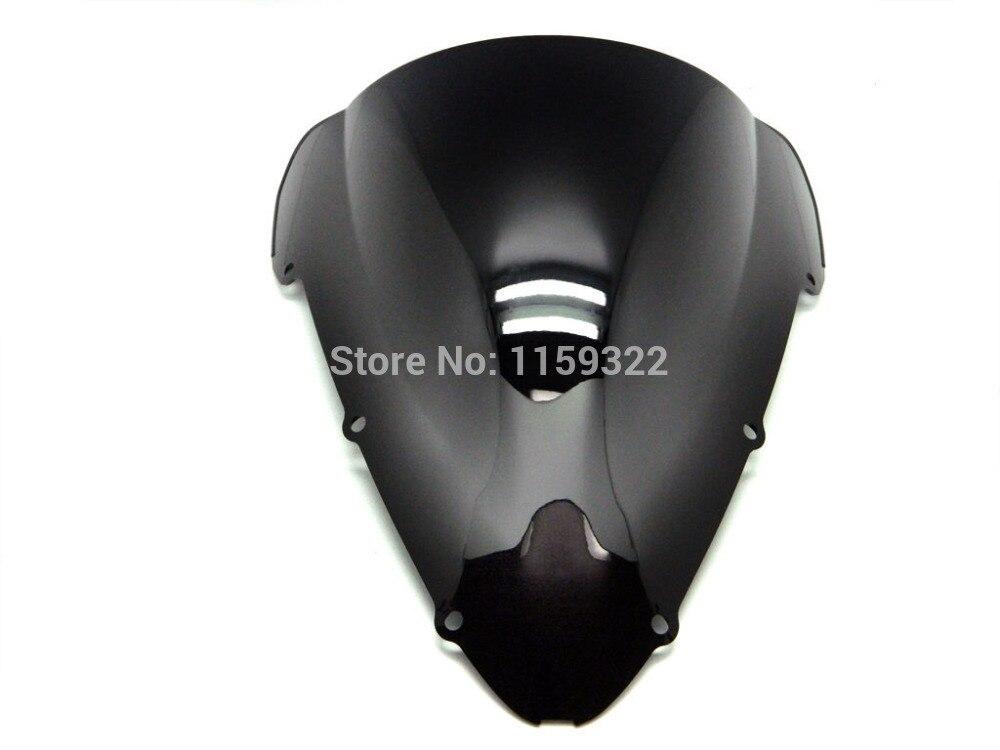 Motorcycle Parts Smoke Black Double Bubble Windscreen Windshield For 2001-2006 Honda CBR 600 F4i
