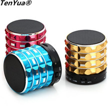 TenYua Portable Mini K2 Column Bluetooth Speaker Support TF