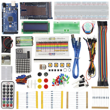 Cheaper Raspberry Pi 3 for MEGA 2560 Starter Kit for ARDUINO LCD Servo Motor Sensor Module Jumper Wire Project Learning AVR MCU Learner