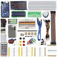 Raspberry Pi Mega Starter Kit for ARDUINO LCD Servo Motor Sensor Module with MEGA 2560 Project Learning AVR MCU Learner