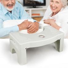 Foldable For Kids Footstool Anti Constipation Bathroom Plastic Squatting Stool Toilet