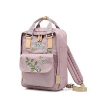 College Embroidery Kanken Backpack for Teenage Girls Fashion Lady School Backpacks Top Handle Travel Bag Oriental Charm Mochila