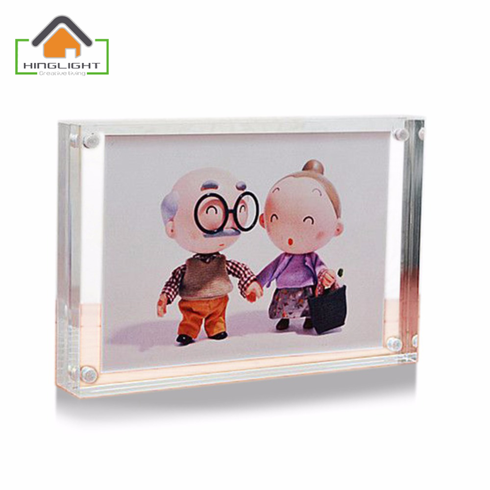 ultra transparency combination home decor photo frame picture magnet combinationchina mainland