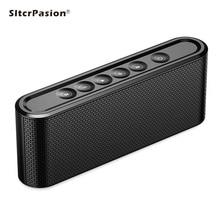 цена на New Wireless Portable Speaker Altavoz Mini Bluetooth Speaker Parlante Concave Touch Control Enceinte PC AUX USB TF Card Slot