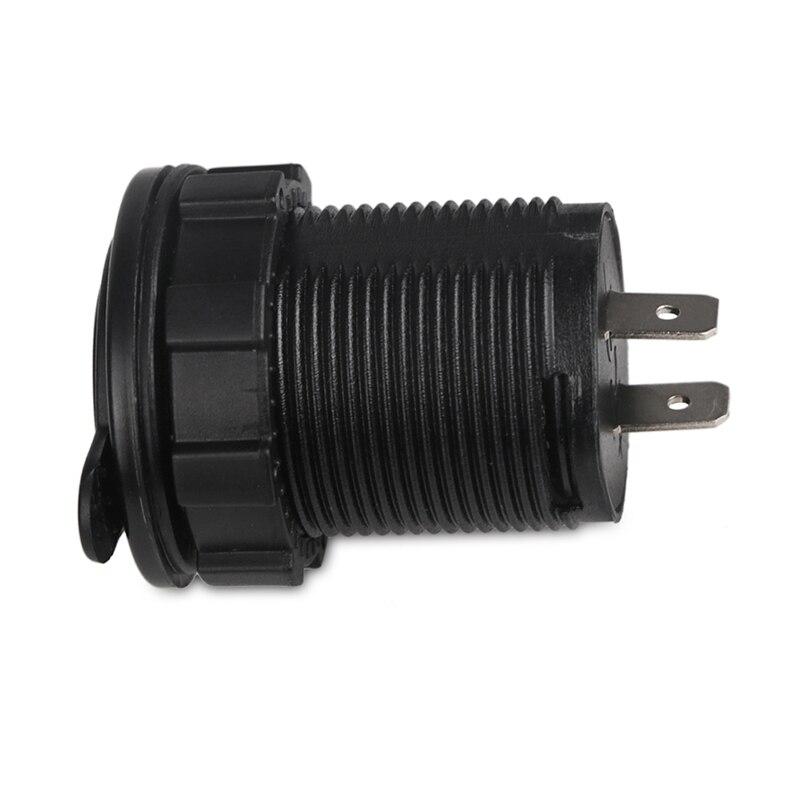 12 v 2.1A Auto Dual USB Autolader Voltmeter Adapter USB Motorfiets - Auto-elektronica - Foto 6