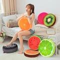 Novo Criativo 3D Fruta do Verão Algodão PP Cadeira de Escritório de Volta Almofada Do Sofá Throw Pillow Nova