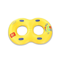 110CM*160CM double Swimming Toy Pool Float Water Fun Toys Swim Ring parent offspring Inflatable Float Pool Accessories Floats