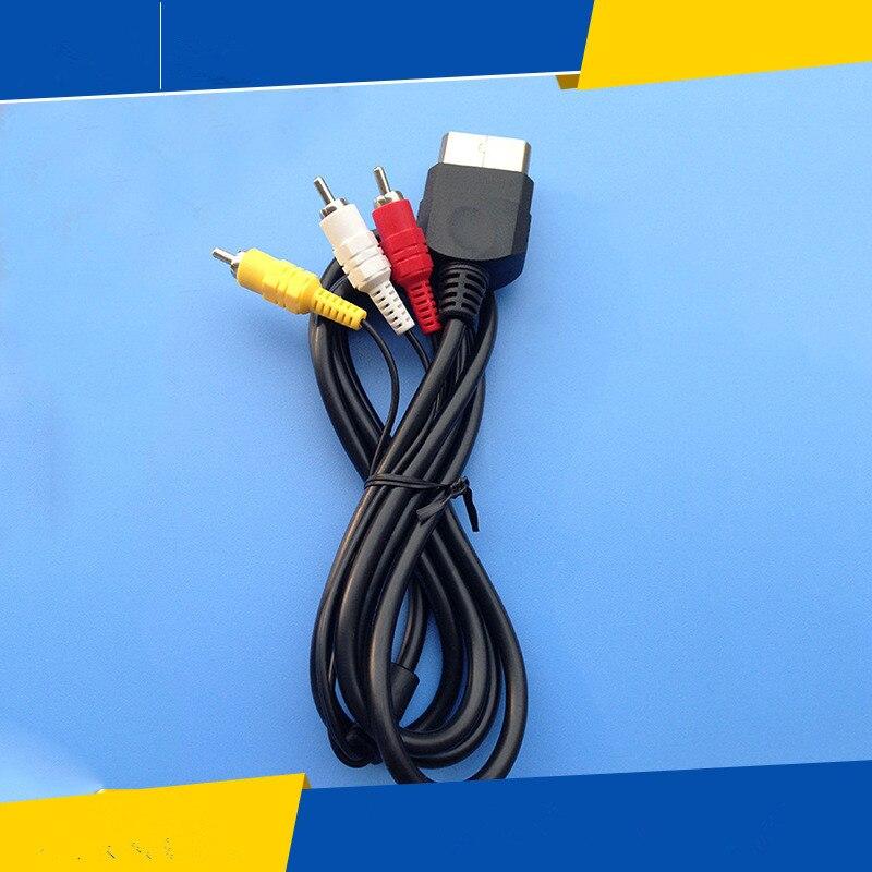 Xbox Standard AV Cable Composite font b Audio b font Video RCA 1 8M Cord