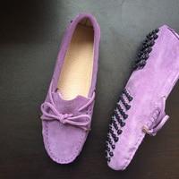 E spadrilles/Женская обувь на плоской подошве, обувь из 100% натуральной кожи, повседневные Лоферы без застежки, женские мокасины на плоской подошв...