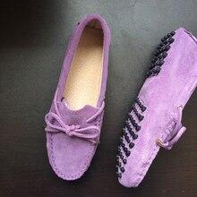 Womene spadrilles Flat Shoes 100% Genuine Leather Shoes Casu