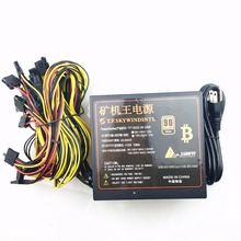 free ship 1600w power supply for font b asic b font bitcoin font b miner b
