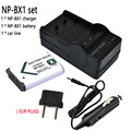 NP BX1 NPBX1 Rechargeable Camera Li-ion Batteries + Car charger + charger For Sony DSC-RX100 RX100 HDR-AS15 SONY np-bx1 battery