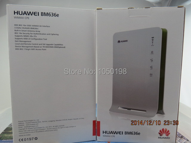 Huawei BM636E 3.3-3.6G Wimax Wireless Indoor CPE Router unlocked new huawei bm636e 3 6ghz wimax 4g wi fi cpe router