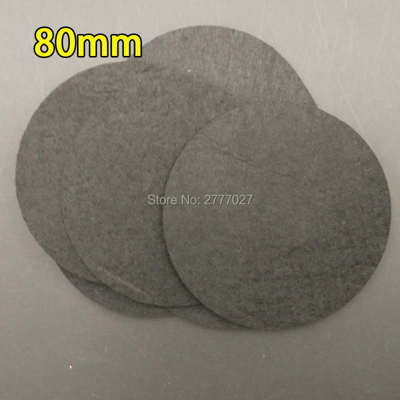 100pcs 8.0CM Felt Circles Eco-friendly Round Felt Fabric Pads Accessory Patches Circle Felt Pads Fabric Flowers Accessories