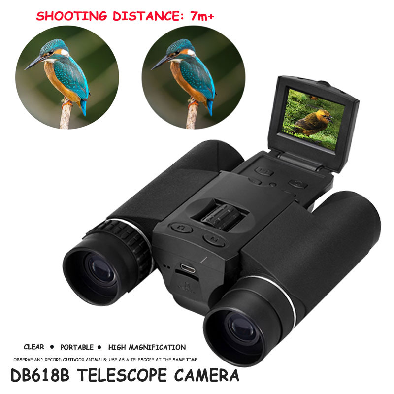 NEW High Cost Performance Two-In-One Camera Telescopic Camera Shooting DV HD Black CamcorderNEW High Cost Performance Two-In-One Camera Telescopic Camera Shooting DV HD Black Camcorder