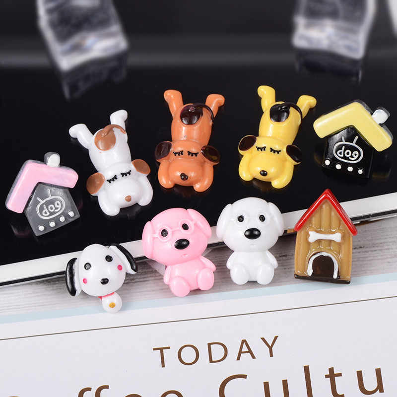 Simulation Monsters Puppy Super Light Clay Charms for DIY Slime Supplies Additives In The Slide Resin Accessories Creative Toys