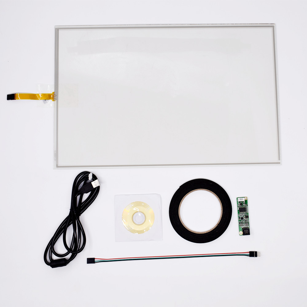 """for 15.6/"""" Inch 4Wire  359*209mm Resistive Industry Touch screen Panel Digitizer"""
