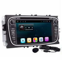 2 Din 7 Inch Android 6 0 Quad Core Car DVD GPS Player Navi For Ford