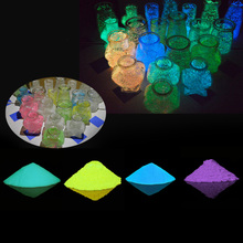 Fluorescent Phosphorescent Toys DIY Portable Dark Super Bright Home Durable Luminous Sand Glow Pigment Powder Party free choose colors super bright luminous powder phosphor pigment coating diy decoration material glow in dark powder pigment