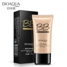 BIOAQUA натуральный поровый чехол увлажняющие BB отбеливающие кремы Красота Косметика для лица основа под макияж основа консилер