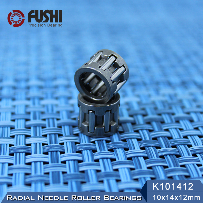 QTY 2 K101310 10x13x10 mm Metal Needle Roller Bearing Cage Assembly 10*13*10