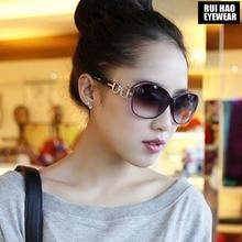 Moda Polarize Güneş Gözlüğü Kadın Gözlük Eğlence Alışveriş Polarize Sürüş güneş gözlüğü Rui Hao Gözlük Markası