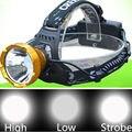 Alta Potência Q5 LED Farol Cabeça Tocha Recarregável 3 modos LEVOU Lanterna lanterna Frontal Para A Caça de Acampamento de Pesca