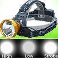 High Power Q5 LED Headlamp Head Torch Lamp Rechargeable 3 modes LED Flashlight linterna Frontal For Hunting Fishing Camping