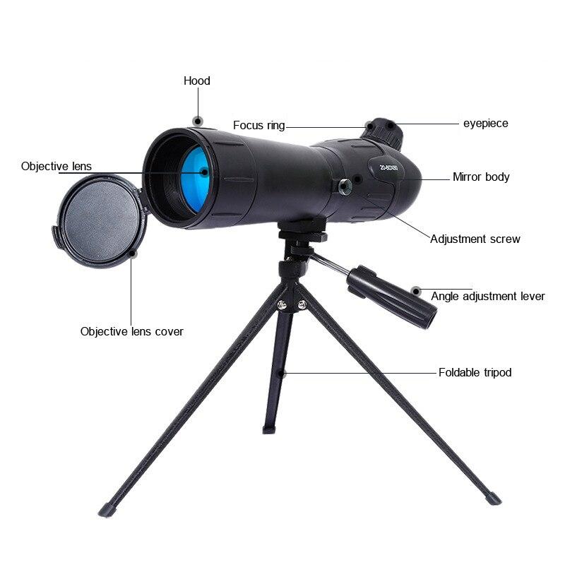 JINXINGCHENG 20 60X60 del Telescopio Dello Zoom Dell'obiettivo di Macchina Fotografica per Smartphone Telescopio Celular Telefono Mobile di Visione Notturna del Telescopio - 4