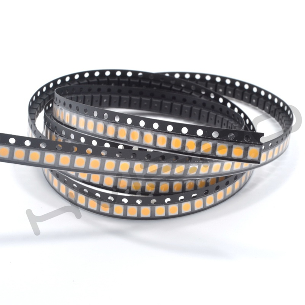 Hviero 3528pcs 3528w-w UV SMD/SMT  Diode LED PLCC-6 3-CHIPS Super Bright lamp light Diodes green product