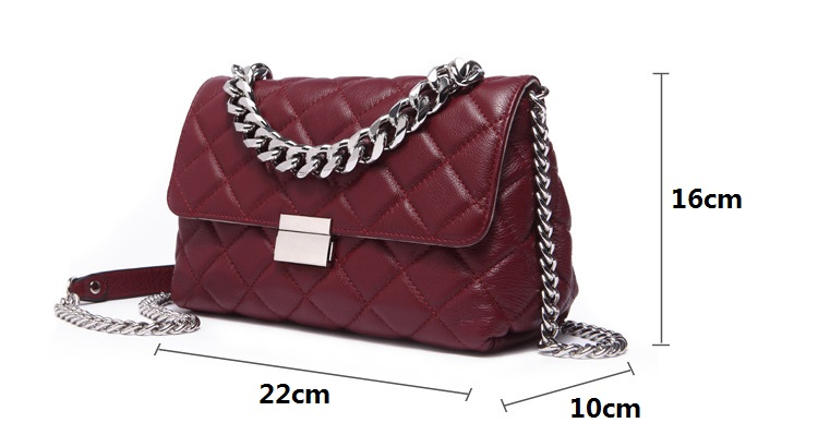 HTB1XM50aJfvK1RjSspoq6zfNpXaU - Small luxury handbags Leather Ladies Crossbody bag Diamond Lattice Female Totes