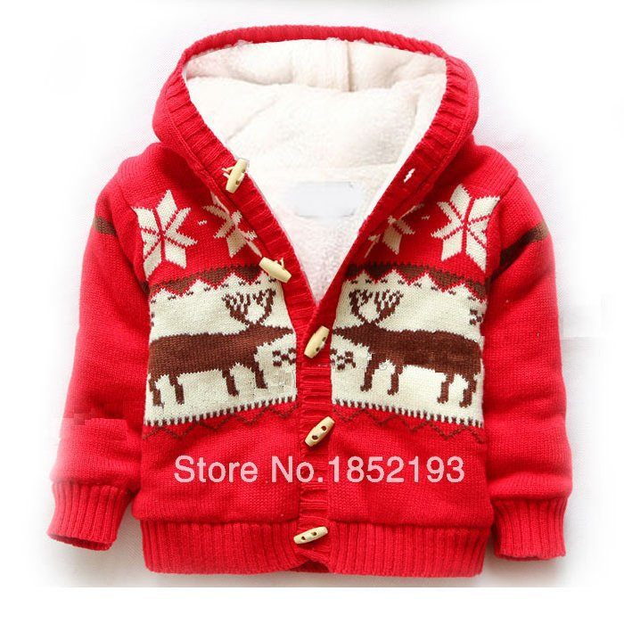Kids Winter Coat girls sweater Christmas deer Warm Cotton infantil coral fleece baby outwear Elk coat Kids boysJacket winter cyan soil bay car truck emergency strobe flash warning light 12v 9 led flashing police 9w lamp sucker red blue white amber