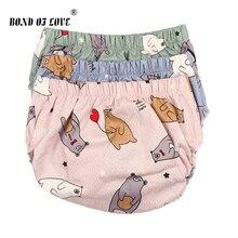 Детские шаровары; хлопковые шорты для девочек и мальчиков; шорты; детские шаровары; 3 цвета; Одежда для новорожденных с рисунком медведя