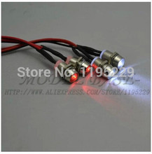 4Leds LED Light Set Headlight Taillight for RC Car Truck Tank HSP Tamiya SAKURA D3
