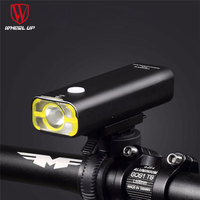 WHEEL UP Usb Rechargeable Bike Light Front Handlebar Cycling Led Light Battery Flashlight Torch Headlight Bicycle