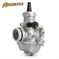 PowerMotor Carburetor Mikuni Carburetor VM24 28mm For 150cc 160cc 200cc 250cc Engine CRF KLX TTR Pit Dirt Bike ATV Round Slide