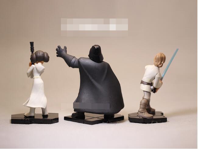 բարձրորակ Star Wars ֆիգուր խաղալիքներ Darth - Խաղային արձանիկներ - Լուսանկար 3
