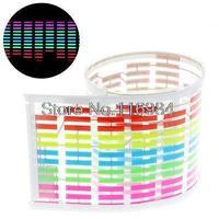 45x11 cm Auto Sticker Muziek Rhythm LED Kleurrijke Flash Licht Equalizer
