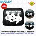 Acessórios carro dos desenhos animados mickey mouse sacos de detritos de painel WD-118