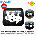 Car accessories  cartoon mickey mouse car dashboard storage debris bags WD-118 free shipping