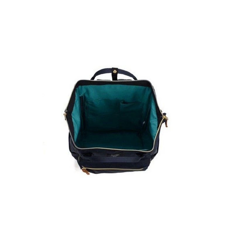 NEW fashion anello ring school backpack 15.6 inch canvas laptop ring package Japan brand young men and women backpack