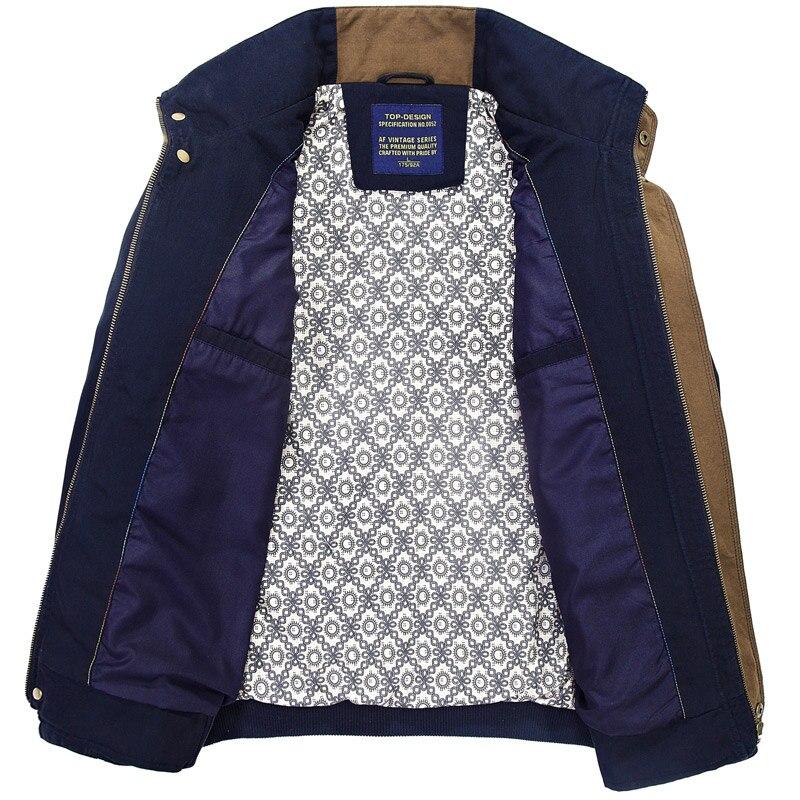 kaki Taille Hommes Qualité Coton Vestes Printemps La Classique 2019 L 4xl Vert Plus Automne Haute Casual pBqwZq0IP
