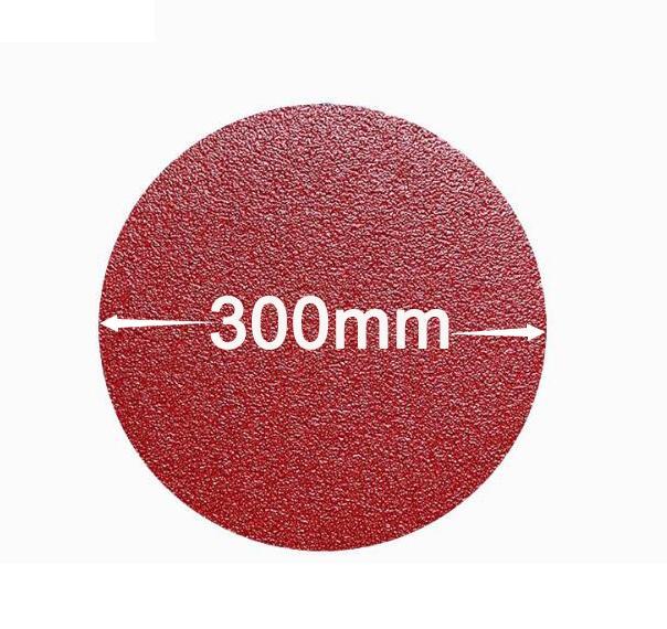 Бесплатная доставка 10 шт. 12 дюймов 300 мм шлифовальный наждачный диск 40 60 80 120 150 180 240 г Зернистость