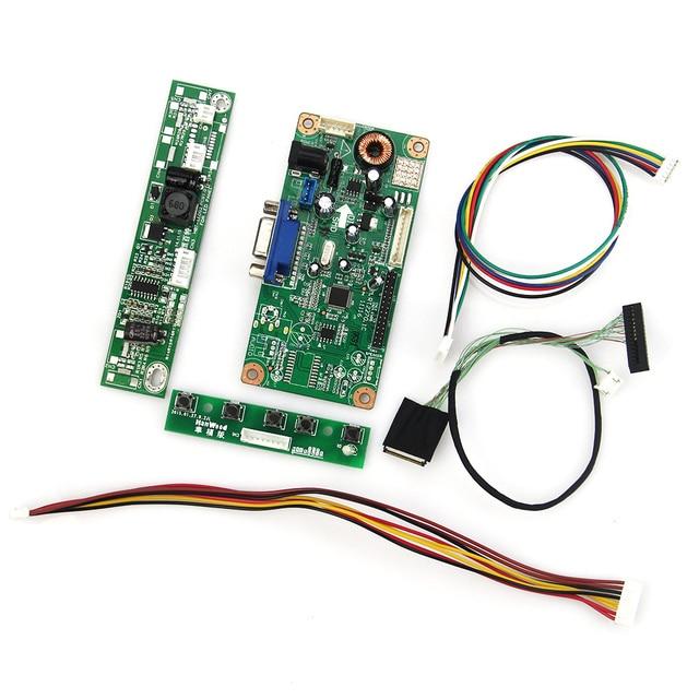 Para Placa De Controle do Driver LTN133AT09 LP133WX3-TLA6 M. RT2270 LCD/LED (VGA) LVDS Monitor de Reaproveitamento Laptop 1280x800