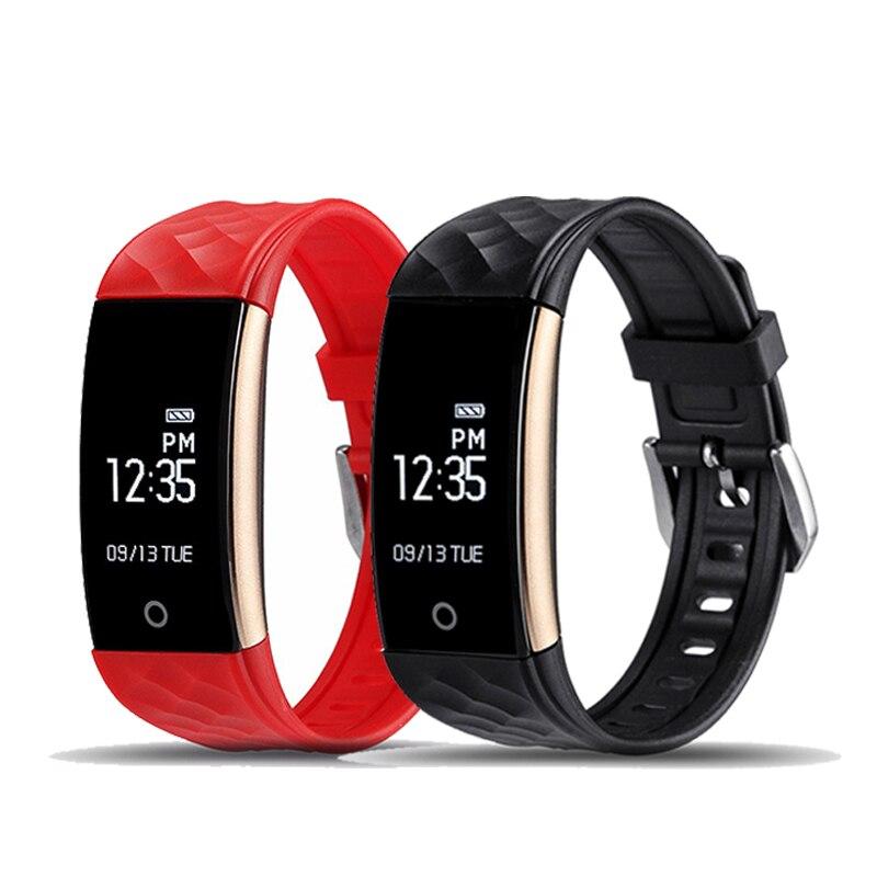 S2 Bluetooth Smart Band Wristband Heart Rate Monitor IP67 Waterproof Smartband C