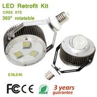 AC100 305V 150 Вт 180 Вт ХТЕ E39 E40 Lampbase Легко регулируемая в осветительное оборудование супер Мощность светодио дный модернизации Наборы 20000lm Max