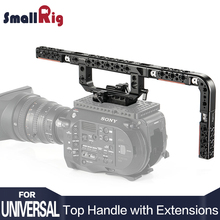 SmallRig DSLR Camera Handle Grip Top with Extensions for FS7/ FS7II/ FS5/ URSA Mini/ RED KHTR2309