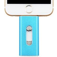 Metal pendrive 64 gb mini usb i-flash drive/unidad flash usb otg para android/iphone 5/6/5s/6 plus ipad/ipod/pc/mac del envío gratis