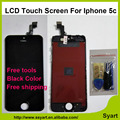 1pcs Black color 5C lcd No Dead Pixel good quality AAA Screen For iPhone 5c LCD Display Touch Screen Digitizer +frame Assembly