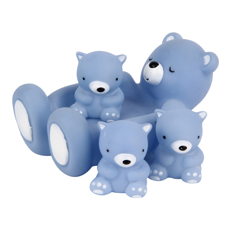 4pcs Floating Bath Play Set Kids Fun Water Bathtub Toys Non Toxic Playing Kit Tub Pool Beach Toy @ZJF